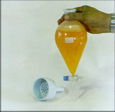 Separatory Funnel, Filter Funnel