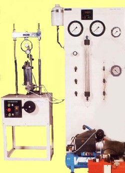TRIAXIAL TEST SET, Digital reading pore pressure